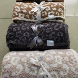 The Styled Collection Buttery Leopard Blanket | The Styled Collection