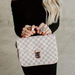 Olivia Crossbody Bag - Cream | Mindy Mae's Market
