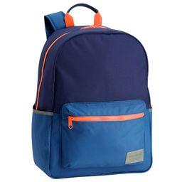 Astor Backpack - Navy & Orange | West Elm (US)