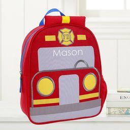 Fire Truck Little Critters Backpack | Pottery Barn Kids