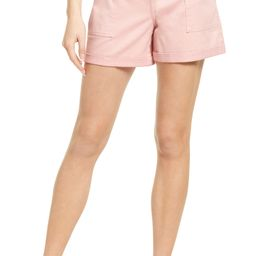 Rolled Cuff Twill Shorts | Nordstrom | Nordstrom