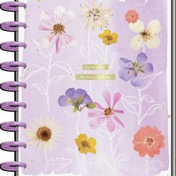 2021 Life In Bloom Classic Horizontal Happy Planner - 18 Months | The Happy Planner