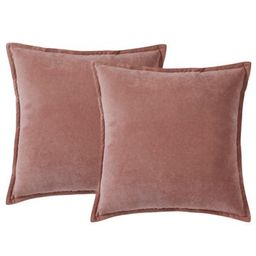 Morgan Home ChenilleSquare Throw Pillows (Set of 2) | Bed Bath & Beyond | Bed Bath & Beyond