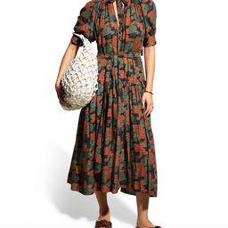 Ulla Johnson Selena Printed Coverup Dress | Neiman Marcus