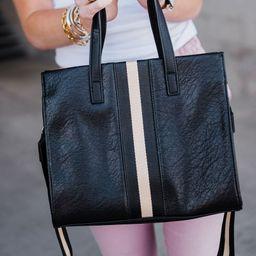 Jasmine Tote Bag - Black: FINAL SALE | Mindy Mae's Market