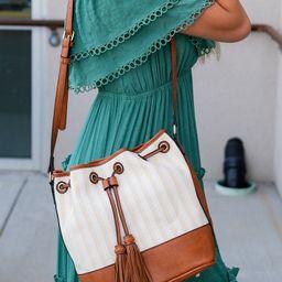 Catherine Straw Bucket Bag | Mindy Mae's Market