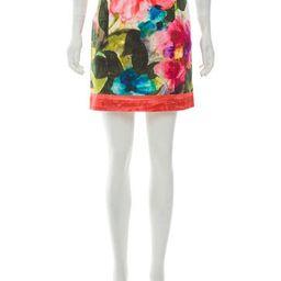 Blumarine Printed Mini Skirt | The Real Real, Inc.