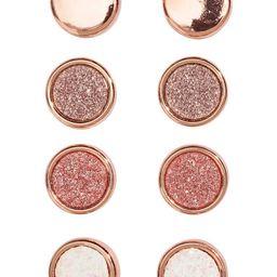H & M - 4 pairs round earrings - Orange   H&M (US)