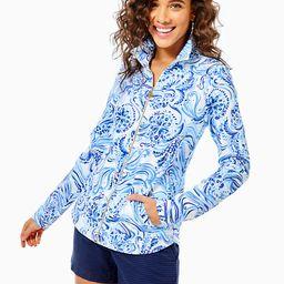 UPF 50+ Round Hem Leona Full-Zip Jacket   Lilly Pulitzer