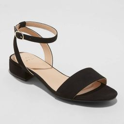 Women's Winona Ankle Strap Sandals - A New Day™   Target