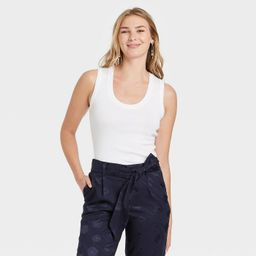 Women's Slim Fit Tank Top - A New Day™ | Target