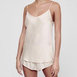 Milos        Sand        Bias        Silk        Camisole   ASCENO