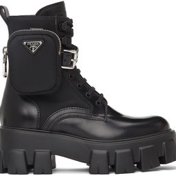 Black Rois Boots | SSENSE