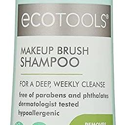Ecotools Makeup Cleaner for Brushes, Brush and Sponge Cleansing Shampoo, 6 oz (Packaging May Vary... | Amazon (US)