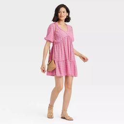 Women's Short Sleeve Tiered Dress - Knox Rose™ | Target