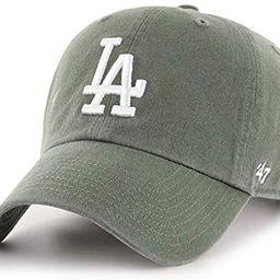 '47 Los Angeles LA Dodgers Clean Up Adjustable Hat - Moss Green/White, Unisex, Adult - MLB Baseba... | Amazon (US)