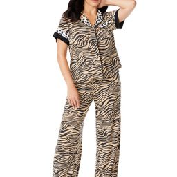 Sofia Intimates by Sofia Vergara Women's and Women's Plus Top and Pants Pajama Set, 2-Piece   Walmart (US)