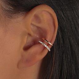 Rhinestone Decor Ear Cuff | SHEIN