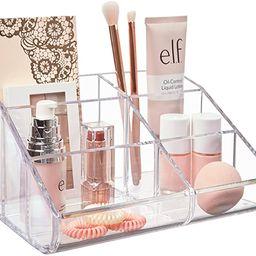 STORi Clear Plastic 6-Compartment Vanity Makeup Organizer   Amazon (US)