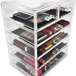 Sorbus Cosmetics Makeup and Jewelry Big Storage Case Display - Stylish Vanity, Bathroom Case (4 L...   Amazon (US)