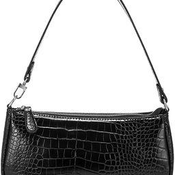 Amazon.com: Shoulder Bags for Women, Retro Classic Tote HandBag Crocodile Pattern Clutch Mini Pur...   Amazon (US)