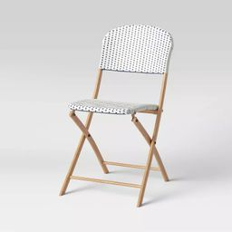 French Cafe Folding Patio Bistro Chair - Threshold™   Target