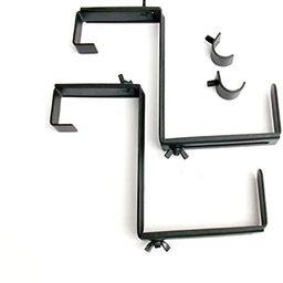 2-Pack 6.75-in Steel Window Box Brackets   Amazon (US)