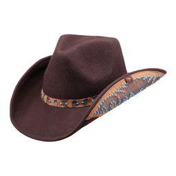 Peter Grimm Hats Women's Cowboy Hats Brown - Brown Wool Amrit Cowboy Hat   Zulily