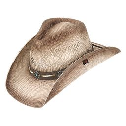 Peter Grimm Hats Women's Cowboy Hats Brown - Brown Shaggy Cowboy Hat   Zulily