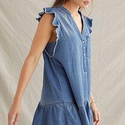 Pilcro Flounced Tunic Dress   Anthropologie (US)