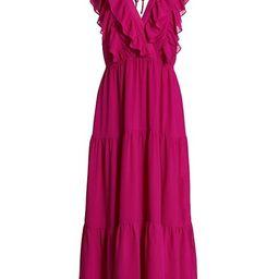 Ruffled Sleeveless Tiered Dress | Saks Fifth Avenue