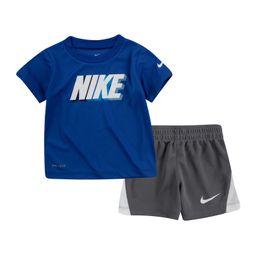Block Shorts & T-Shirt 2-Piece Set | Nordstrom Rack