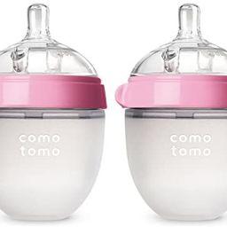 Comotomo Baby Bottle, Pink, 5 Ounce (2 Count) | Amazon (US)