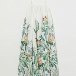 Voluminous Linen-blend Dress | H&M (US)
