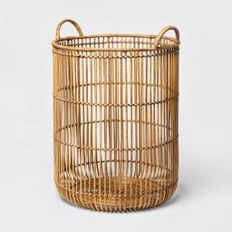 Round Rattan Decorative Baskets Natural - Project 62™   Target