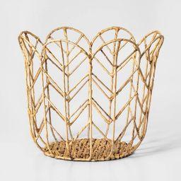 Tulip Shaped Woven Basket - Pillowfort™   Target