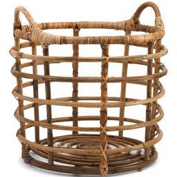 Rattan Basket Rattan Handle Collection   TJ Maxx