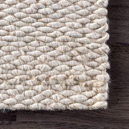 Off White Handspun Jute Area Rug | Rugs USA