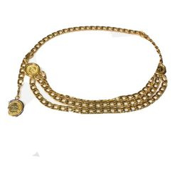 Chanel Multi-Chain Gold-Plated Belt  | eBay | eBay US