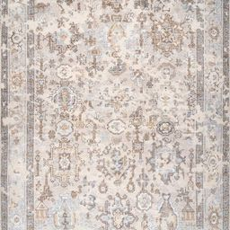 Multi Hand Knotted Ivied Oriental Area Rug   Rugs USA