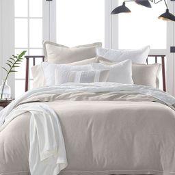 Linen Blend Duvet Cover, King, Created for Macy's | Macys (US)