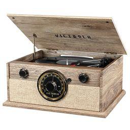 Victrola 4-in-1 Cambridge Farmhouse Modern Bluetooth Turntable with FM Radio | Kohl's