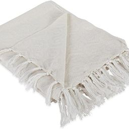 DII Modern Cotton Geometric Blanket Throw with Fringe For Chair, Couch, Picnic, Camping, Beach, E... | Amazon (US)