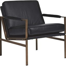 Ashley Furniture Signature Design Puckman Accent Chair, Black | Amazon (US)
