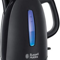 Russell Hobbs Wasserkocher Textures+, 1,7l, 2400W, LED Beleuchtung, Schnellkochfunktion, optimier... | Amazon (DE)