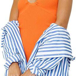 Sexy Halter Neck Bodycon Dress Y2k Sleeveless Backless Cut Out Long Dress Tie Dye Criss Cross Kni... | Amazon (US)
