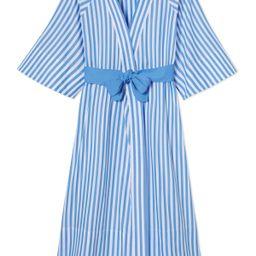 Kimono Robe in Regatta Blue | LAKE Pajamas