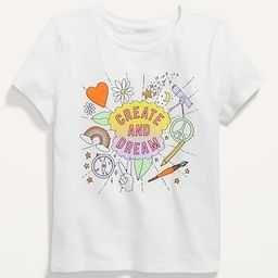 Short-Sleeve Graphic Tee for Girls | Old Navy (US)