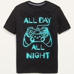 Graphic Crew-Neck Tee for Boys | Old Navy (US)