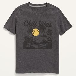 Vintage Graphic Crew-Neck Tee for Boys | Old Navy (US)